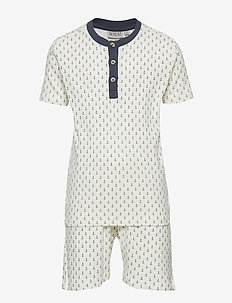 Boy Py Set Short SS - ivory