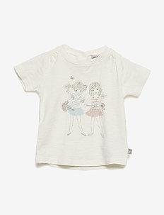 T-Shirt Friends SS - kortermede - ivory