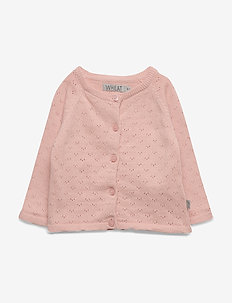 Knit Cardigan Maja - MISTY ROSE
