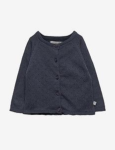 Knit Cardigan Maja - NAVY