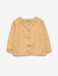 Knit Cardigan Maja - cardigans - new wheat