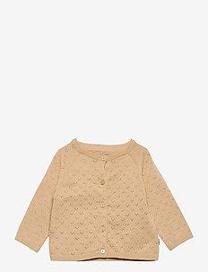 Knit Cardigan Maja - gilets - soft beige