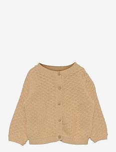 Knit Cardigan Magnella - cardigans - soft beige