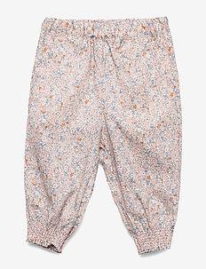 Trousers Sara - housut - rose flowers