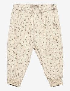 Trousers Sara - trousers - eggshell flowers