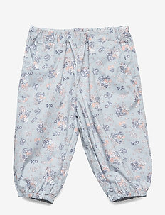 Trousers Malou - bukser - pearl blue flowers