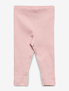 Rib Leggings - leggings - misty rose