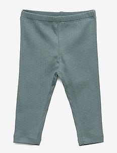 Jersey Leggings - PETROLEUM