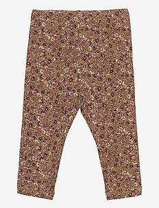 Jersey Leggings - leggings - caramel flowers