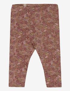 Jersey Leggings - leggings - rose cheeks flowers