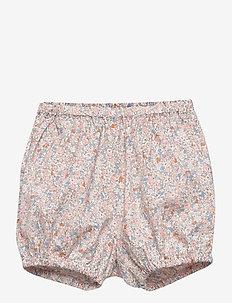 Nappy Pants Pleats - szorty - rose flowers