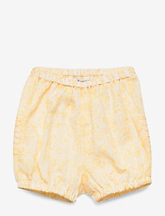 Nappy Pants Pleats - shorts - lemon flowers