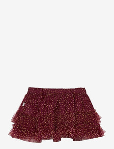 Skirt Tulle Sille - spódnice - burgundy