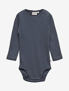 Body Plain LS - GREYBLUE