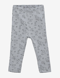 Wool Leggings - leggings - dusty dove