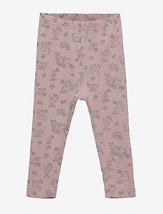 Wool Leggings - leggings - fawn