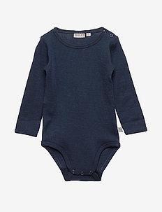 Body Plain Wool LS - long-sleeved - navy