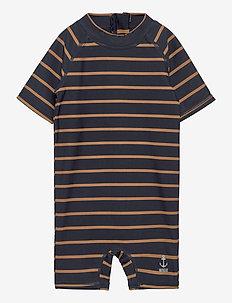 Swimsuit Cas - combinaisons uv - midnight blue stripe