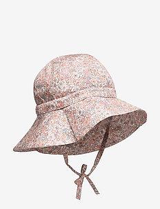 Baby Girl Sun Hat - chapeau de soleil - powder flowers
