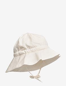 Baby Girl Sun Hat - solhatt - ivory