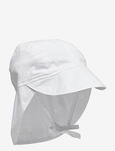 Baby Boy Sun Cap - WHITE