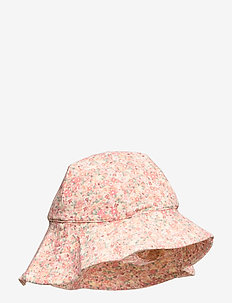 UV Sun Hat - hellehattu - lemon curd flowers