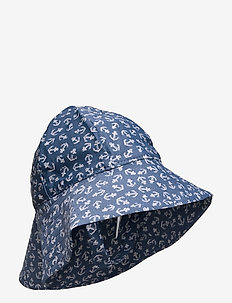 UV Sun Hat - hellehattu - indigo anchor