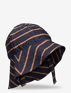 UV Sun Hat - MIDNIGHT BLUE STRIPE