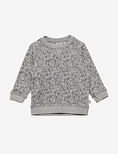 Sweatshirt Elvis - svetarit - melange grey