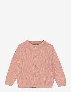 Knit Cardigan Ray - cardigans - misty rose