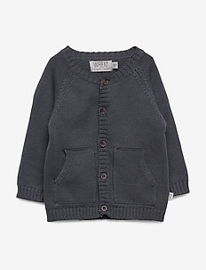 Knit Cardigan Classic - cardigans - ink