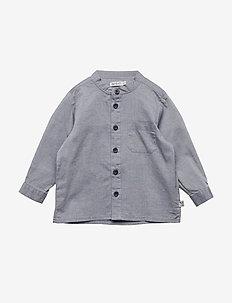 Shirt Pocket LS - shirts - navy