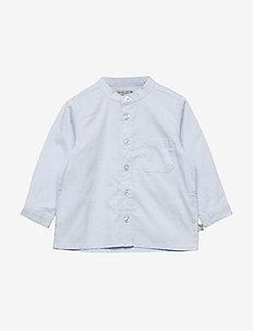Shirt Pocket LS - chemises - sky