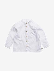 Shirt Pocket LS - skjorter - white