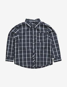 Shirt Olof LS - GREYBLUE