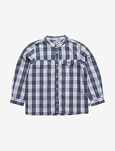 Shirt Axel LS - shirts - indigo