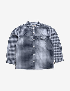 Shirt Axel LS - BLUE