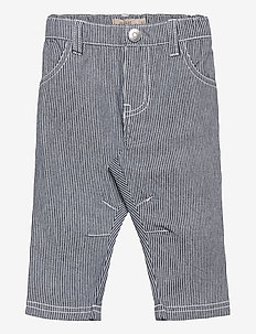 Trousers Edvard - trousers - navy
