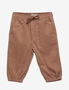 Trousers Gustav Lined - pantalons - caramel