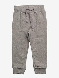 Sweatpant Vincent - trousers - melange grey