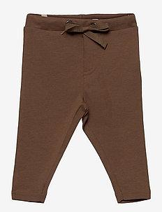 Soft Pants Manfred - trousers - walnut