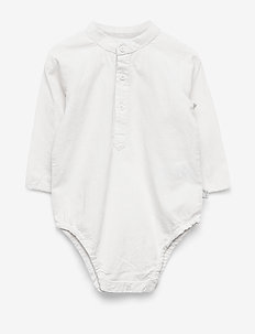 Romper Shirt Victor - manches longues - ivory