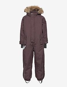 Snowsuit Moe - snowsuit - eggplant