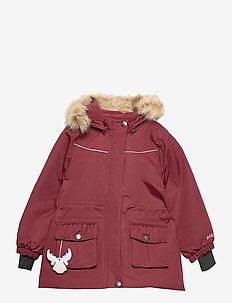 Jacket Mathilde Tech - parkas - burgundy