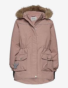 Jacket Mathilde Tech - parkas - rose powder