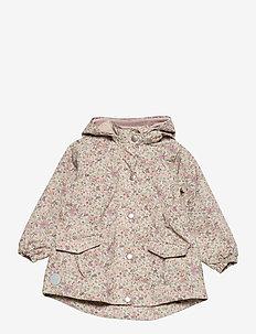 Jacket Ada Tech - softshell jassen - stone flowers