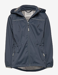 Softshell Jacket Gilda - softshell jacket - greyblue