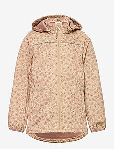 Softshell Jacket Gilda - softshell-jakker - soft beige flowers