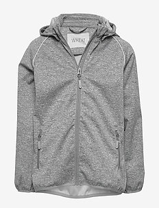 Softshell Jacket Carlo - softshell jacket - melange grey