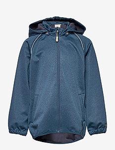 Softshell Jacket Eddie - softshell-jakker - blue melange